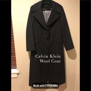 Beautiful Calvin Klein Wool Blend Coat